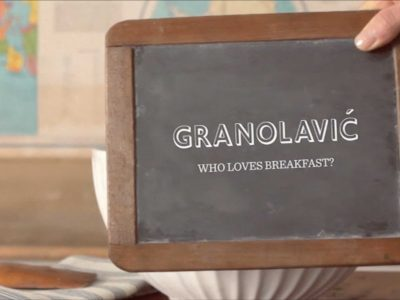 """Who Loves Breakfast"" for Granolavic"